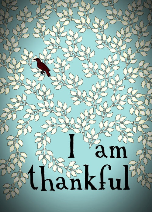 Thankful….