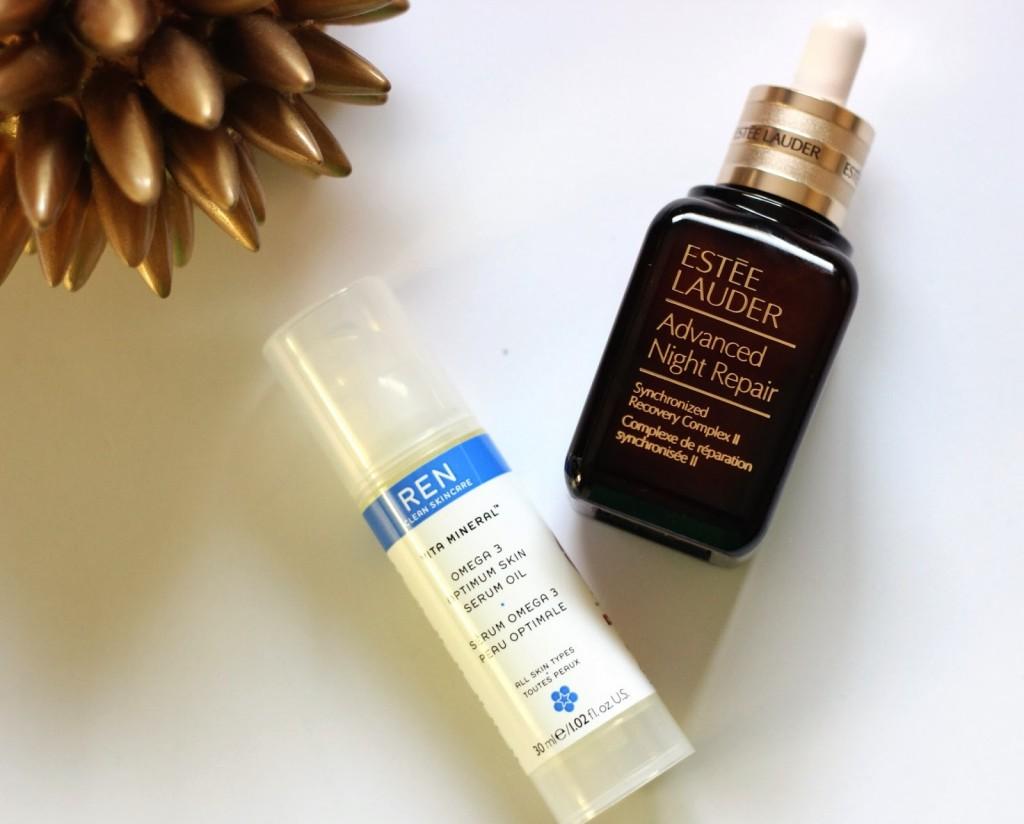 Skin care, serums, Advanced Night Repair, Serum, Oil, REN