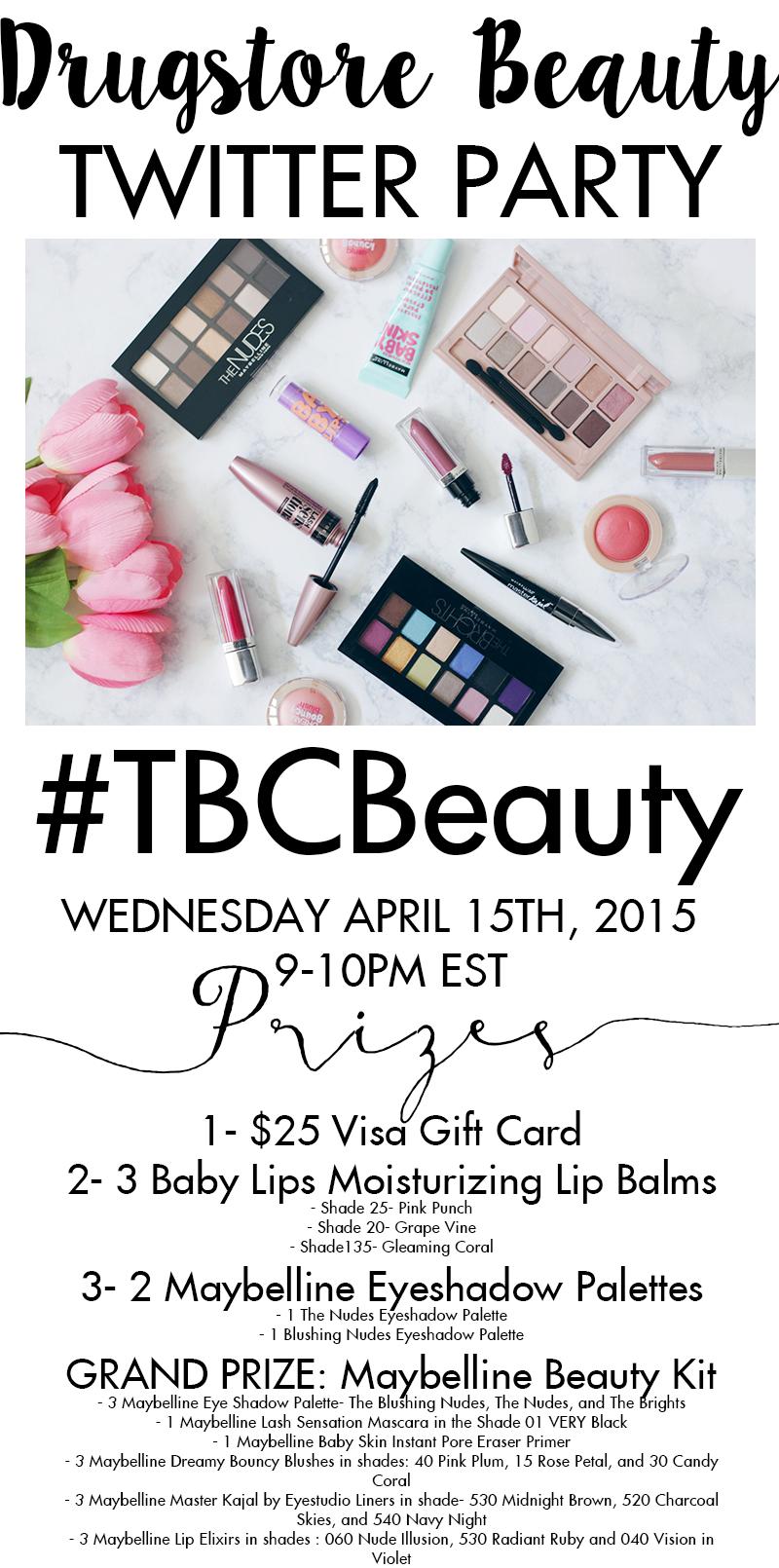 #tbcbeauty-Twitter-Party