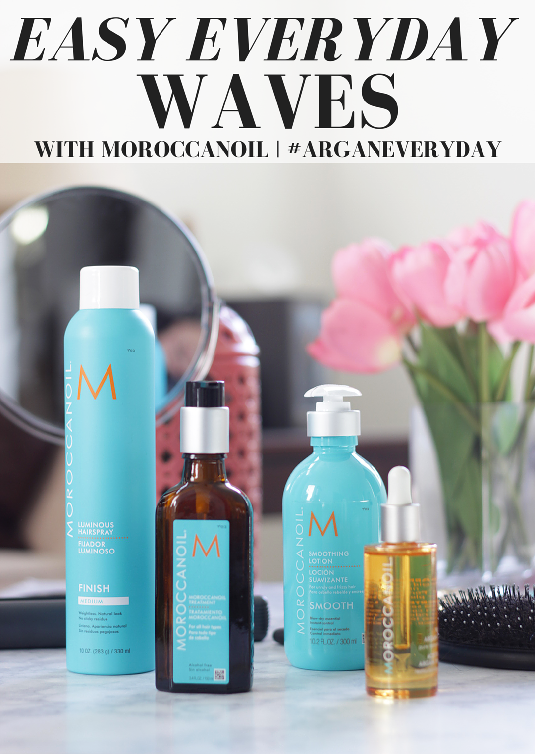 #ad New Year, New Haircare, right? Time to say hello to soft, nourished hair thanks to help from @Moroccanoil and #ArganEveryday. Keep reading and see why Jamie is obsessed with this Argan infused line- #ArganEveryday #ad