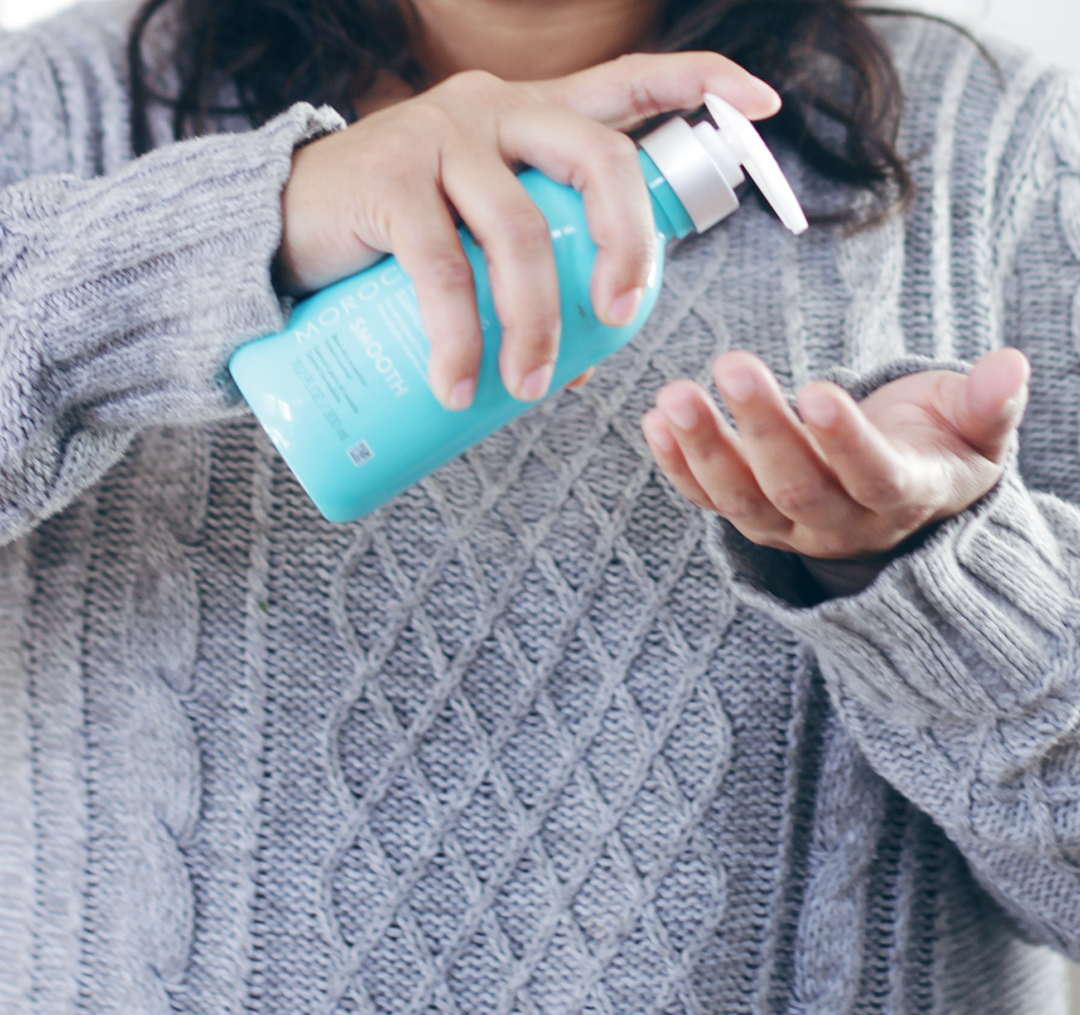 New Year, New Haircare routine, right? Time to say goodbye to frizzy, unruly hair and hello to soft, nourished hair thanks to help from Moroccanoil. Keep reading and see why Jamie is obsessed with this Argan infused line- #ArganEveryday #ad