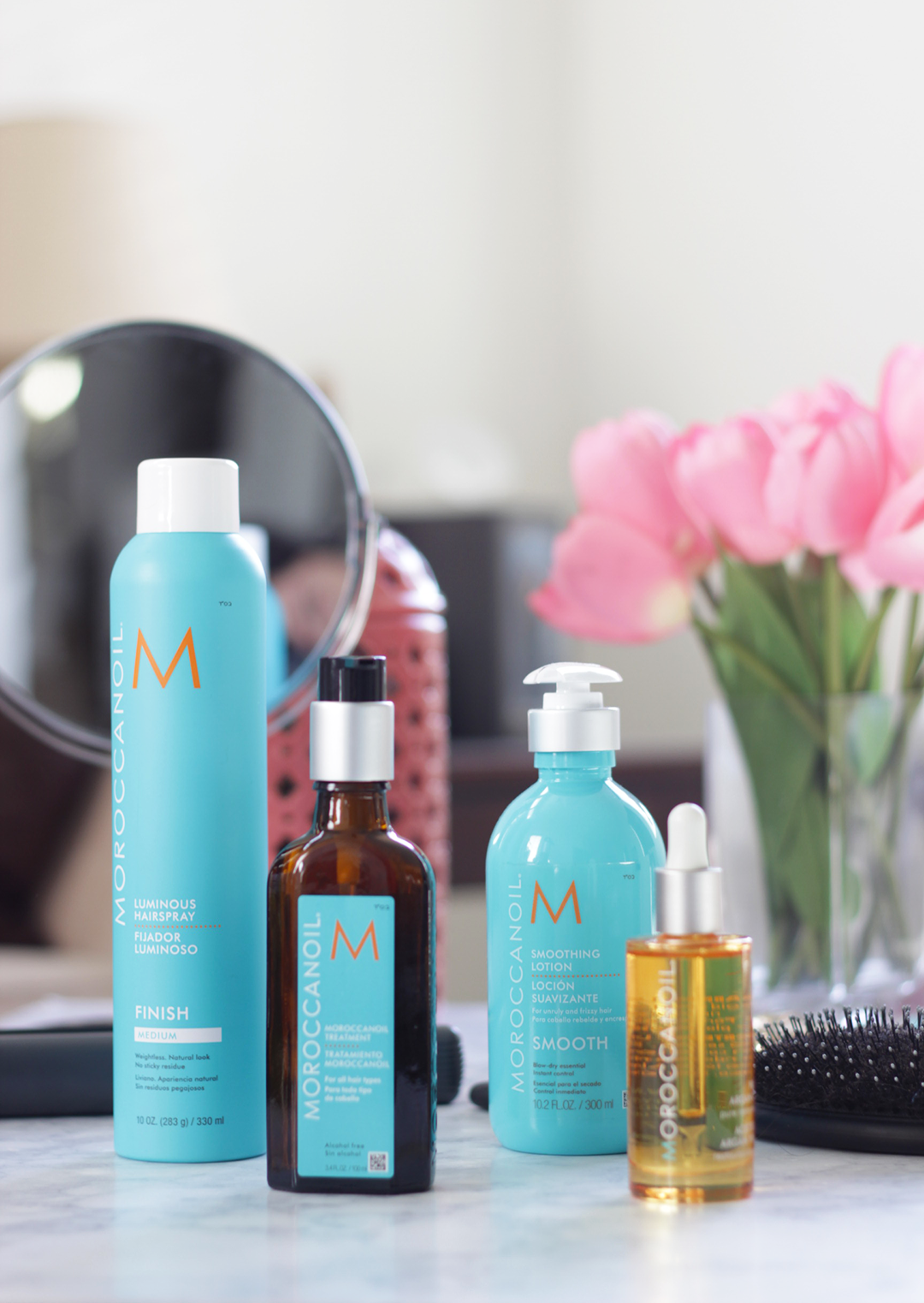 New Year, New Haircare routine, right? Time to say goodbye to frizzy, unruly hair and hello to soft, nourished hair thanks to help from Morrocanoil. Keep reading and see why Jamie is obsessed with this Argan infused line- #ArganEveryday #ad
