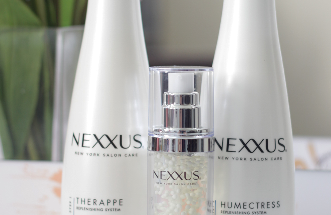 Healthy hair starts with great products. Find out why the Nexxus Replenishing System is a dry hair MUST HAVE. Keep reading to see how Jamie is loving the Nexxus Humectress and Therappe System- Nexxus Healthy Hair- Nexxus Haircare- Makeup Life and Love