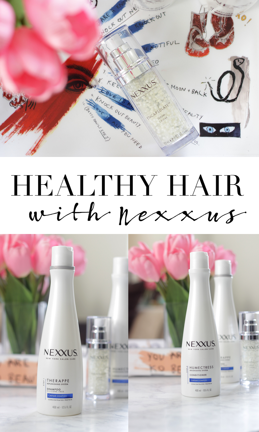 Healthy hair starts with great products. Find out why the Nexxus Replenishing System is a dry hair MUST HAVE. Keep reading to see how Jamie is loving the Nexxus Humectress and Therappe System- Nexxus Healthy Hair- Nexxus Haircare