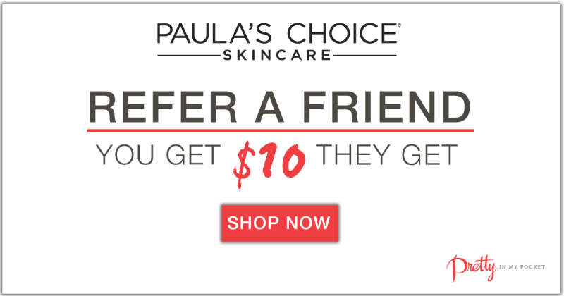 #PRIMPYoSelf this spring with a bit of help from Paula's Choice. See how you can save $10 off your purchase of $15 or more with the #Give10Get10 referral program happening now. Check out how Jamie is loving her Paula's Choice products a year later. - Paula's Choice- #PRIMPLovesPaula