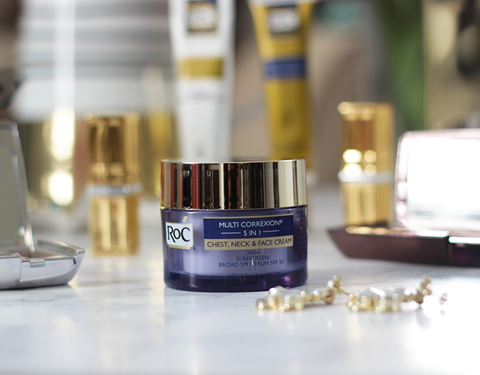 Summer is around the corner, which means it is time to kick your skincare up a notch. Find out how Jamie is getting skin summer ready with a bit of help from RoC Skincare- Makeup Life and Love- RoC Skincare- #WomenWhoRoc- #ad- #RoCSkincare- Makeup Life and Love