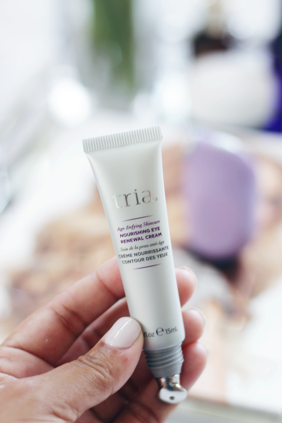 TRIA Age-Defying Eye Wrinkle Correcting Laser is helping me turn back time daily with just 2 minutes a day. Keep reading and see how the TRIA Age-Defying Eye Wrinkle Correcting Laser made a difference in just 8 weeks- Makeup Life and Love- Age-Defying Eye Wrinkle Laser-TRIA Beauty