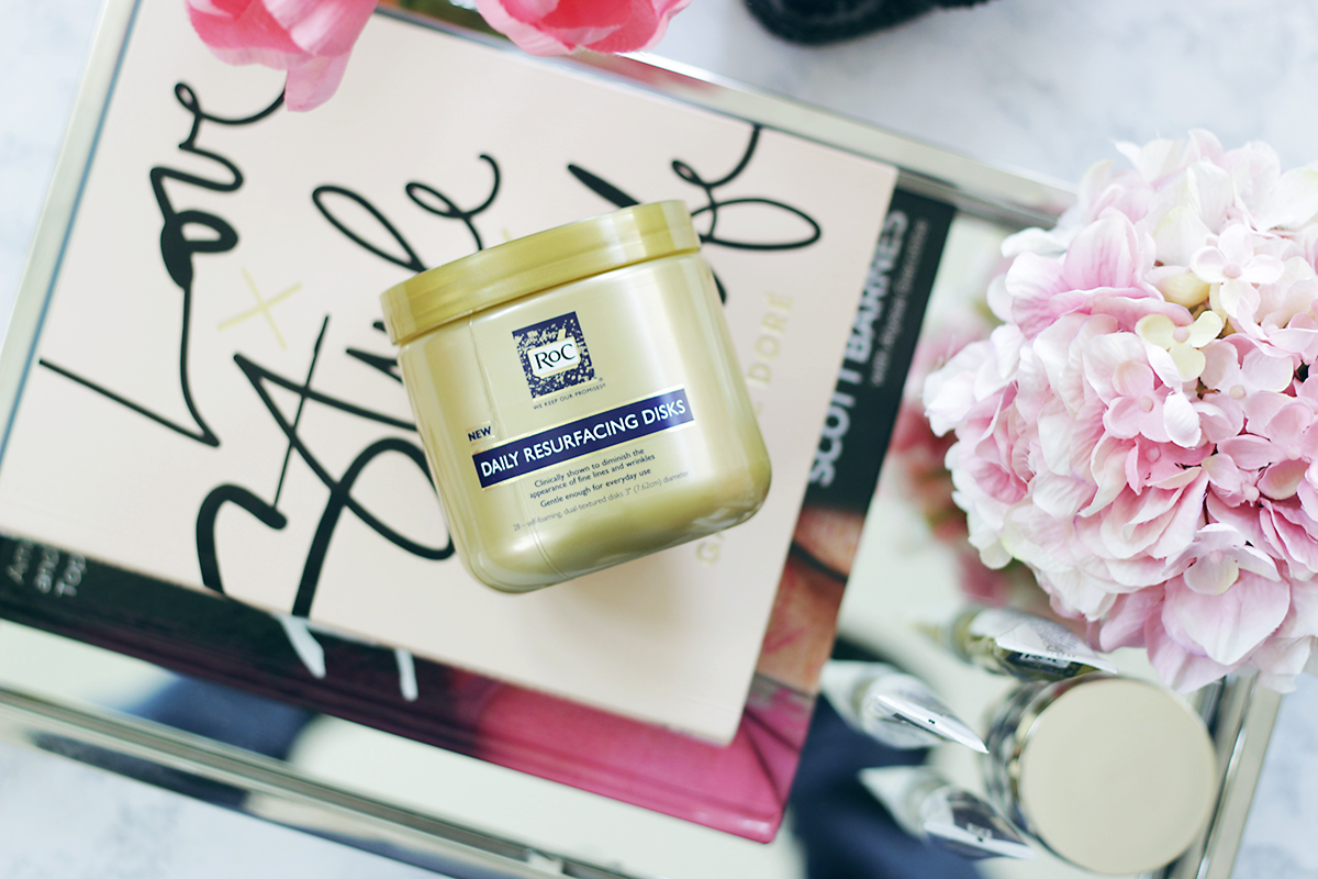 Time to tackle summer with amazing skin. Find out how Jamie is obsessing over the RoC Skincare Resurfacing Disks this summer. Makeup Life and Love - #WomenWhoRoc - RoC Skincare