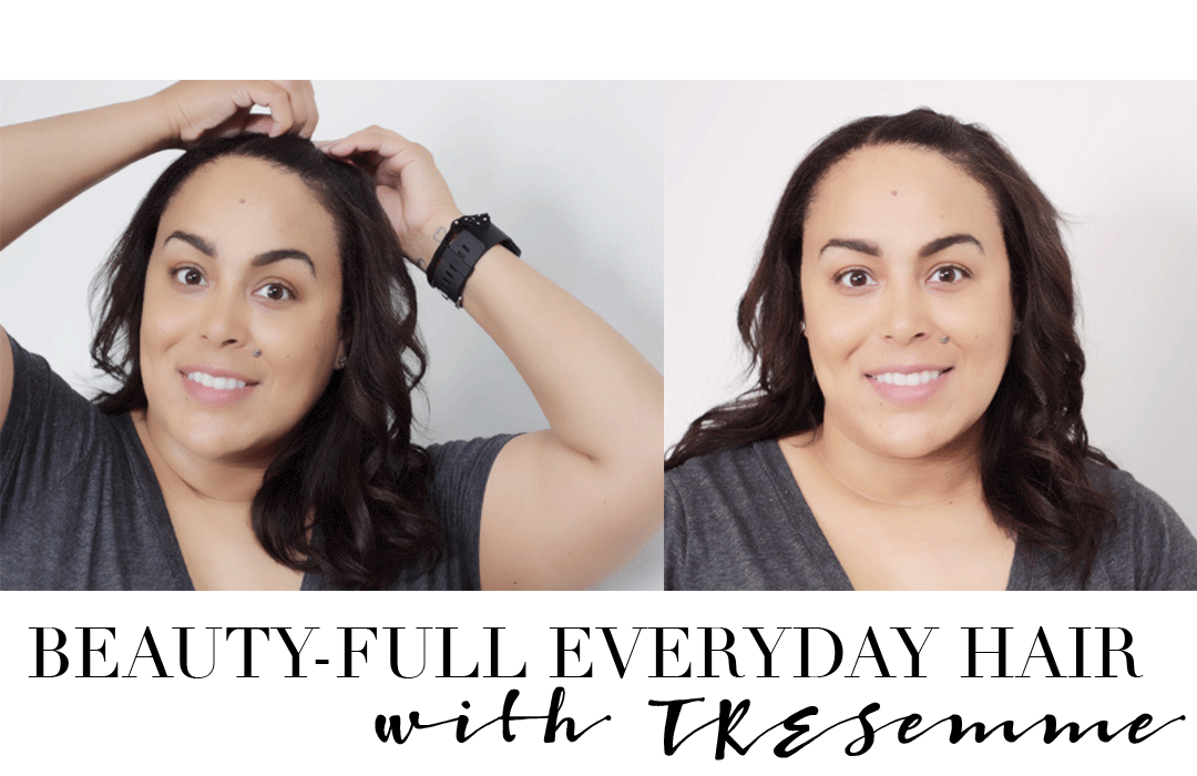 Pump up the volume with TRESemme Beauty-Full Volume Hair Collection. Find out how you can add some oomph to your normal hairstyle with this everyday hair tutorial from Makeup Life and Love- TRESemme- TRESemme Beauty-Full Volume- Makeup Life and Love