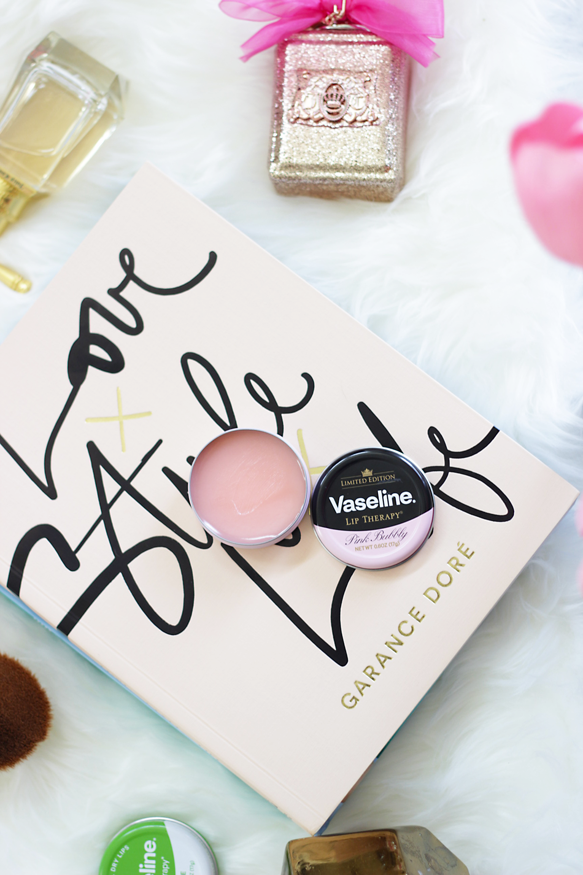 Time to pop a bit of pink bubbly with Vaseline this summer and the new Vaseline Lip Therapy in Pink Bubbly. What better way to stay kissable all summer.- Vaseline Pink Bubbly-Makeup Life and Love- #Cheers2HealthyLips