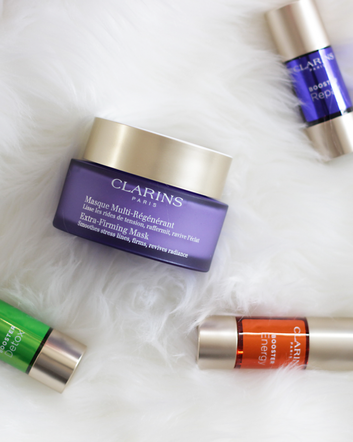 Has your skin been feeling dry, dull, fatigued and overworked? Give your skin a bit of boost back to life thanks to the new Clarins Skincare Booster. Keep reading and see why you NEED a bit of a boost in your skincare regimen ASAP!
