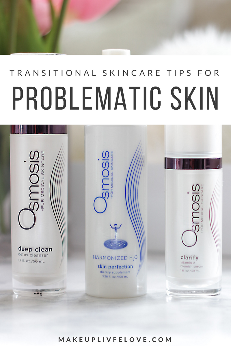 Has the winter weather taken a toll on your skin? Are you breaking out left and right? Today we are talking transitional skincare tips for problematic skin featuring a few awesome products by Osmosis PUR Medicial Skincare. Head over to Makeup Life and Love to see how to keep breakouts at bay with a few skincare changes.