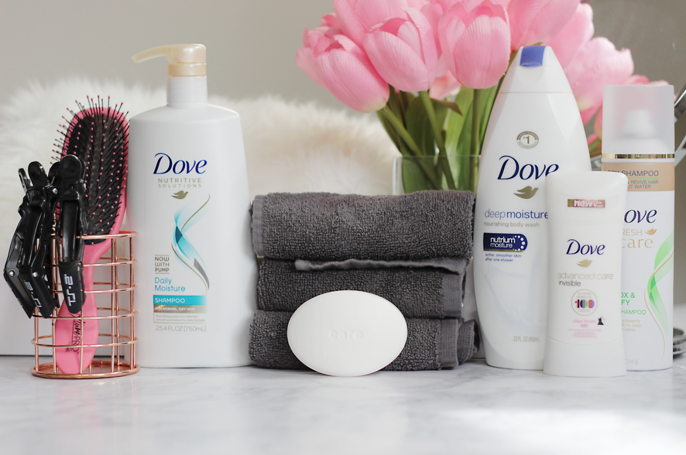 The only person you are destined to become is the person you decide to be... Today we are teaming up with Dove to share five easy tips to start embracing yourself TODAY + a giveaway to help you #RaiseTheBeautyBar!