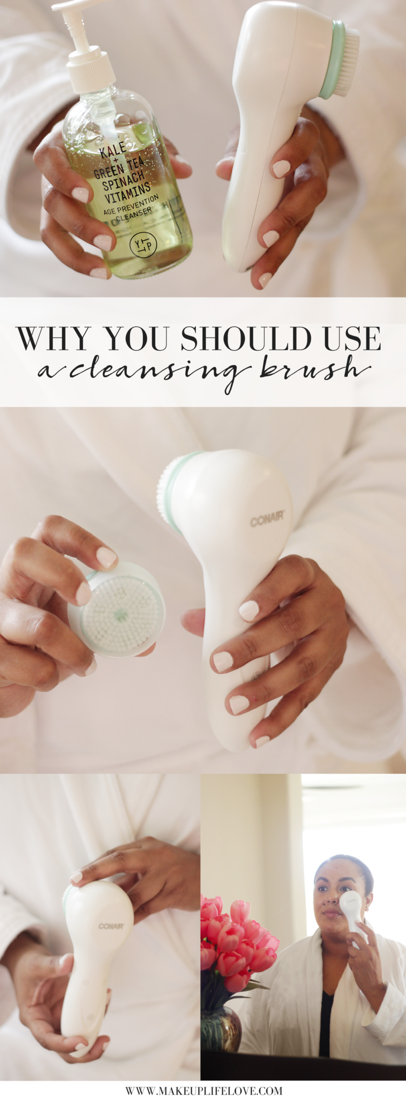 Need a reason to try a cleansing brush? Keep reading and see why this cleansing brush is the BEST one with the perfect price point as well.