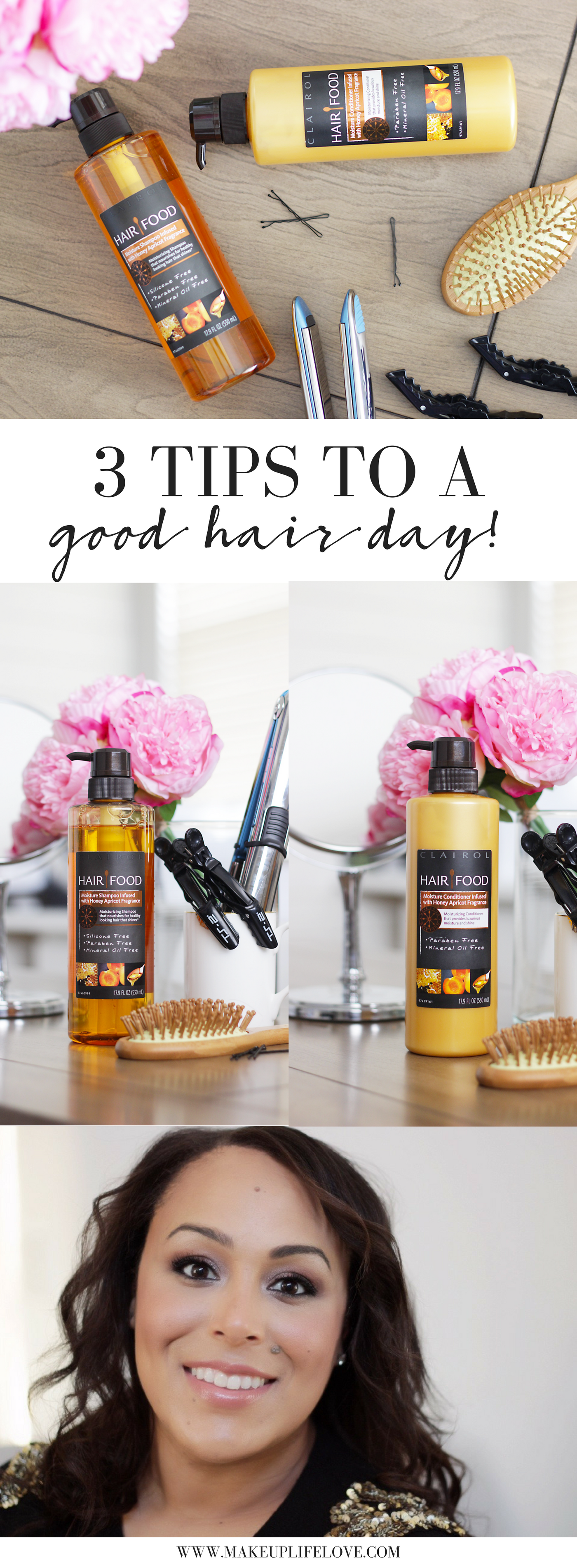 A good hair day is hard to come by, here are 3 EASY tips to do now to ensure a good hair day tomorrow!