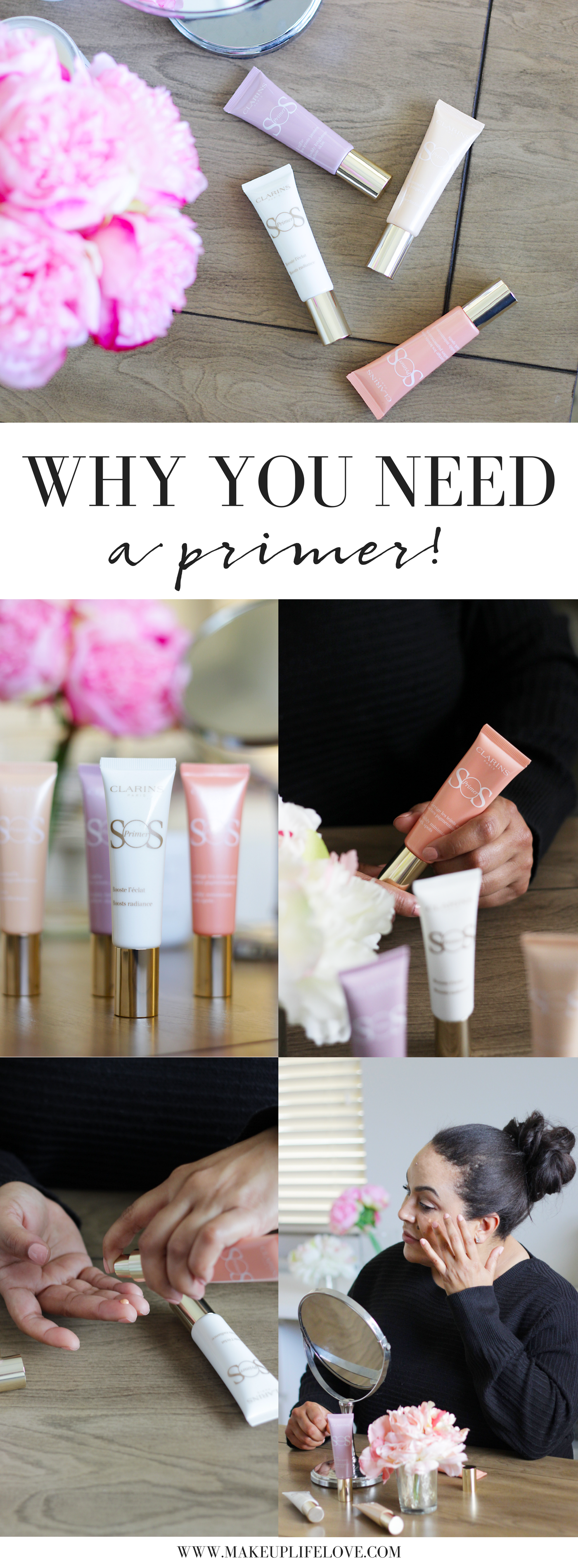 Bookmark this! Makeup Life Love shares Why You Need a Primer. Curious what primer is perfect for you? Keep reading to see what primer is best for your skin type!