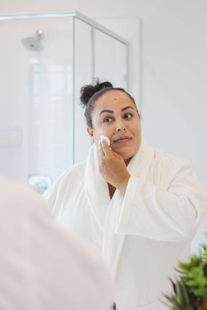 Short on time? Lifestyle blogger Makeup Life and Love is chatting all about a two-step skincare system that has been changing the way does skincare.