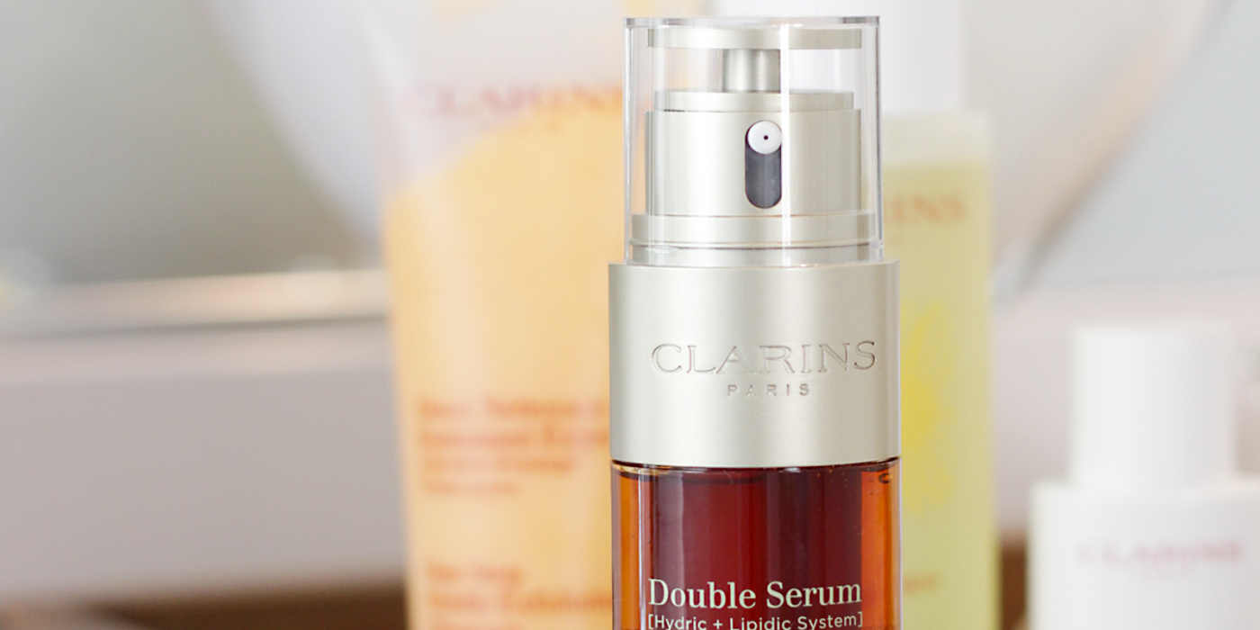 It's been a year you guys! Time to check back in and see what product has become a holy grail in my skincare regimen… Clarins Double Serum- Double Serum