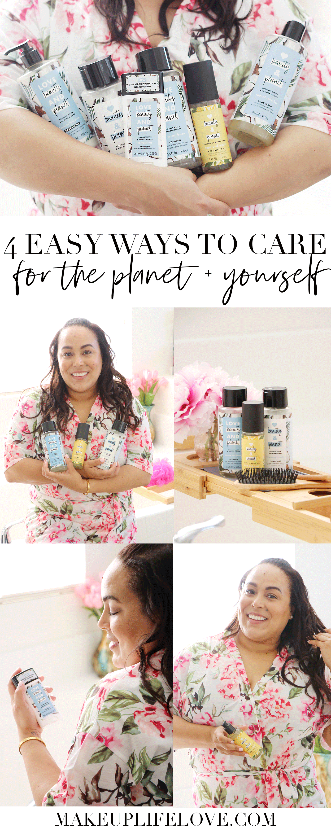 Earth month is here! Curious how to take care of the planet? Los Angeles Lifestyle Blogger Makeup Life and Love is sharing her top 4 tips to take care of the planet and yourself! See them HERE!