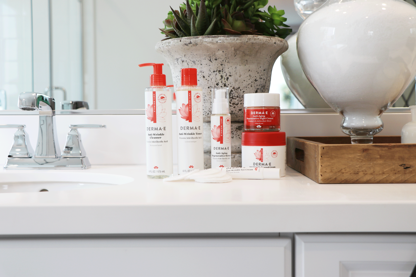 When it comes to skincare, looking young is something we all strive for. But at what cost? If you are looking for an affordable anti-aging routine I have you covered! Click to see why this affordable anti-aging line is amazing.