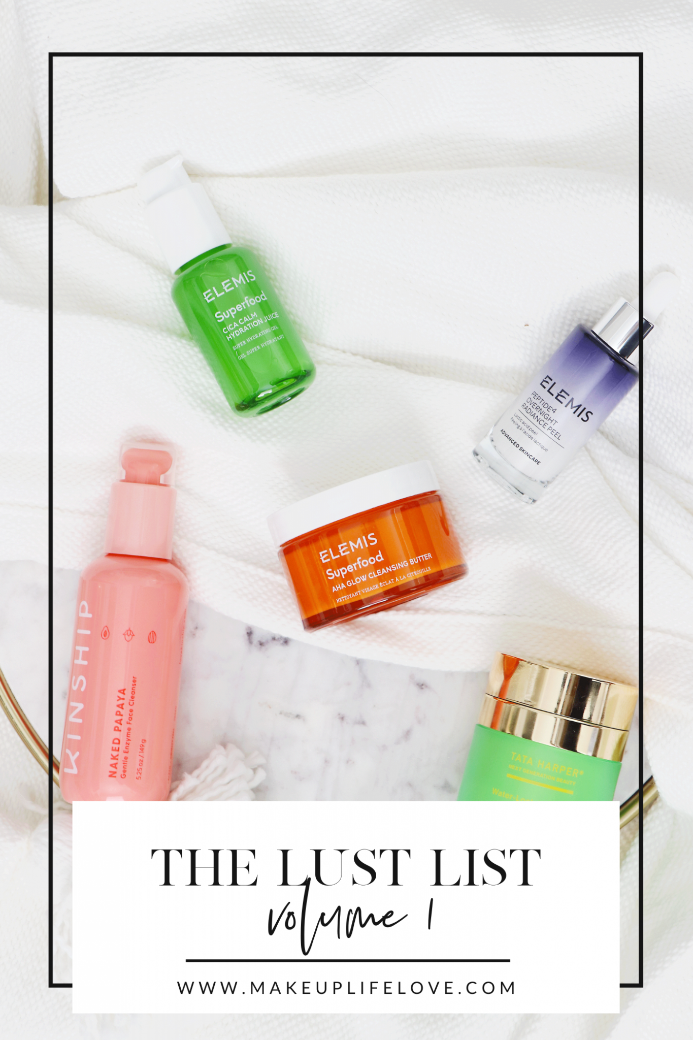 What's on your beauty lust list this month? Los Angeles blogger Jamie Lewis is sharing her current monthly beauty lust list HERE!