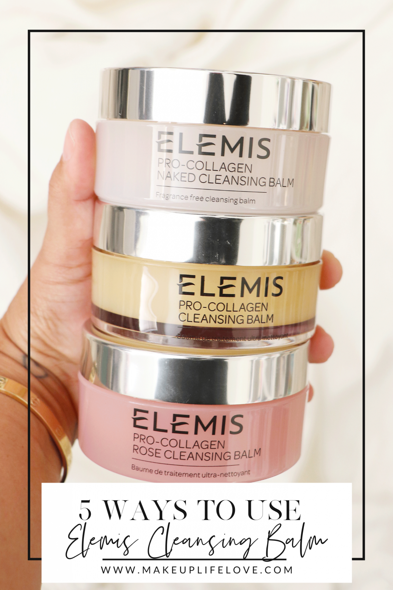 Looking for ways to use Elemis Pro-Collagen Cleansing Balm? Los Angeles Blogger Jamie Lewis is sharing her top favorite ways here!