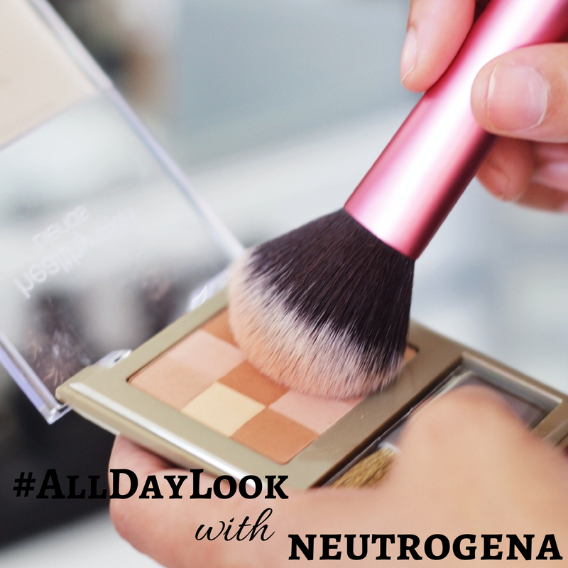 #AllDayLook- Neutrogena-#shop-#ad-#CollectiveBias-beauty-beauty tutorials- makeup tips-makeup