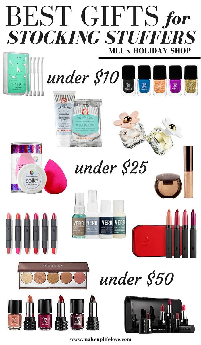 Holiday Gift Guides Stocking Stuffers Makeup Life And Love