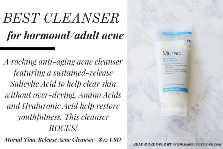 Not sure what kind of cleanser to use? Keep reading as Jamie rounds up her favorite cleanser for each skin care in this week's Skincare Basics. Find out more: https://makeuplifelove.com