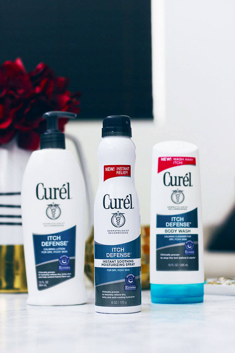 Time to say good bye to dry, itchy skin thanks to Curél® Itch Defense® line. The Curél® Itch Defense® will seriously change the way your skin looks at cold weather- Makeup Life and Love- https://makeuplifelove.com