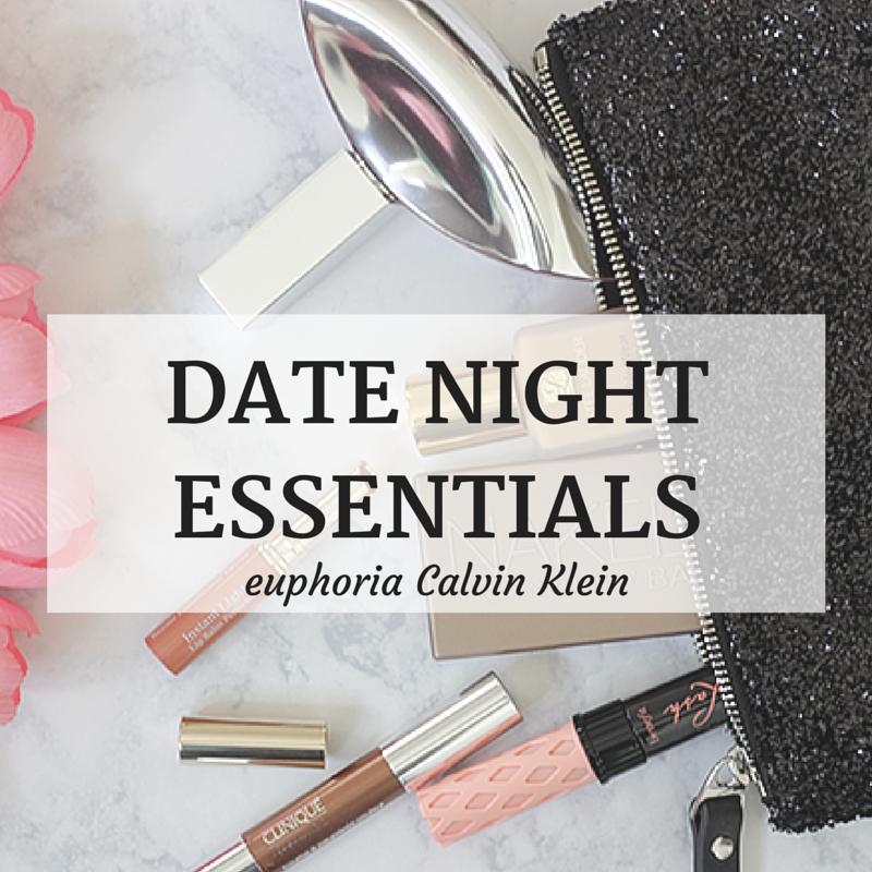 Date Night-euphoria Calvin Klein-euphoria-Clavin Klein-beauty-essentials