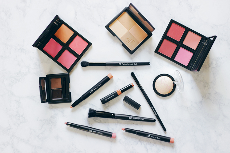 This summer go bold with a monochromatic beauty look that adds a hint of drama. From eyes to lips find out why I am loving this barely there bronze beauty look featuring ELF Cosmetics. #TargetStyle- ad- sponsored- MakeupLifeLove- target