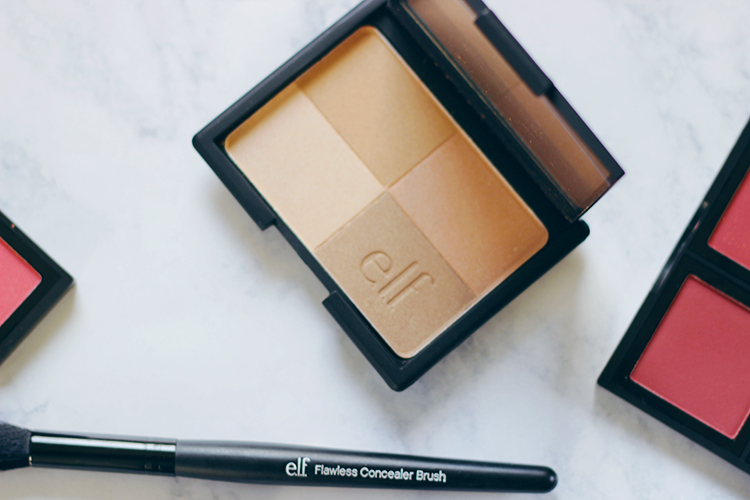 This summer go bold with a monochromatic beauty look that adds a hint of drama. From eyes to lips find out why I am loving this barely there bronze beauty look featuring e.l.f. Cosmetics. #TargetStyle- ad- sponsored- MakeupLifeLove- target