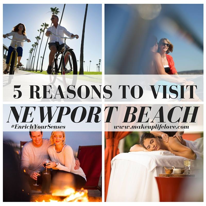 Looking for the ultimate vacation or staycation? Keep reading and see why you need to visit Newport Beach as Jamie gives you 5 reasons to Visit Newport Beach this holiday season- #EnrishYourSenses- Newport Beach
