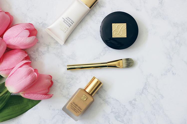 Estee Lauder-Double Wear Makeup- Foundation- Primer- Powder