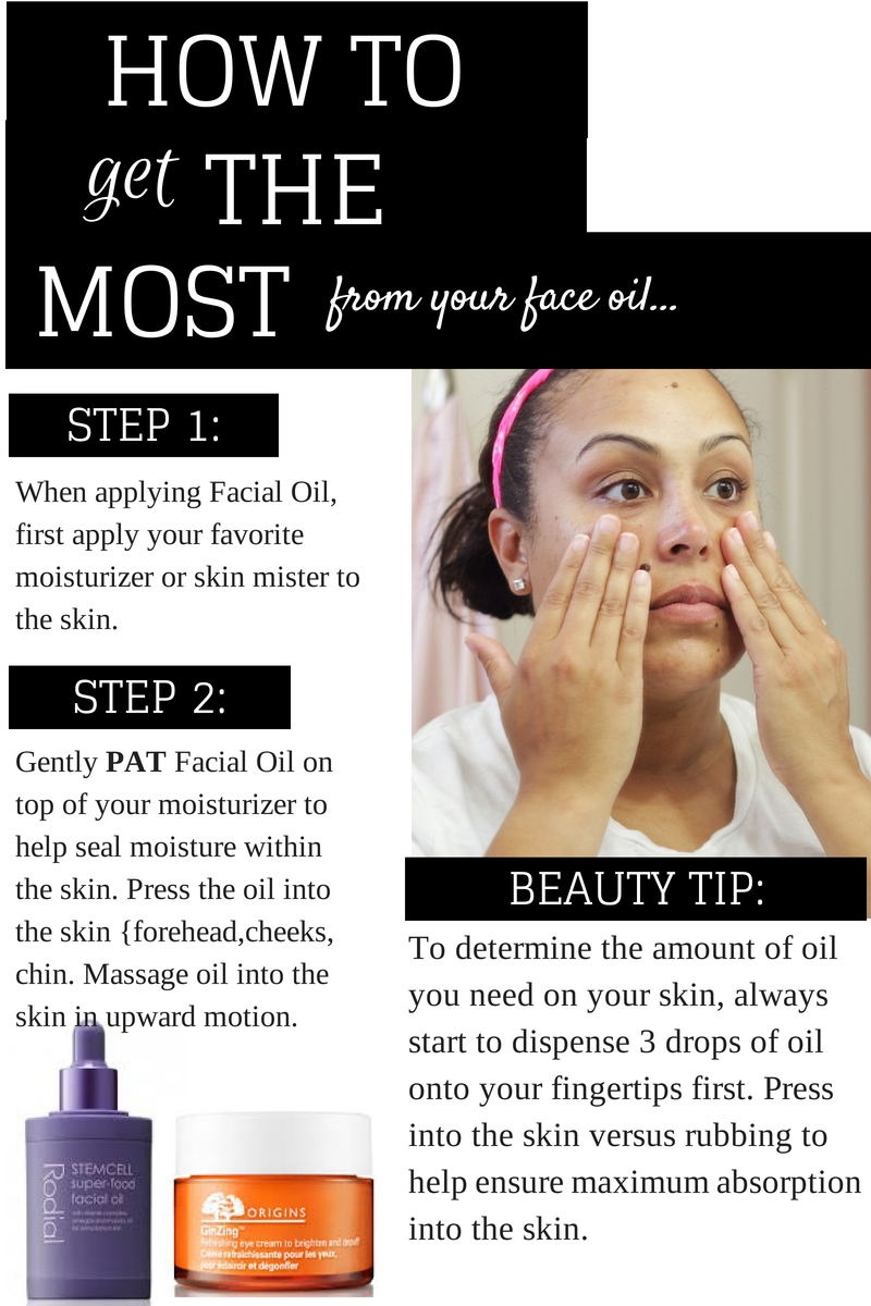 Facial-Oils-For-The-Skin-Type-How-To-Apply