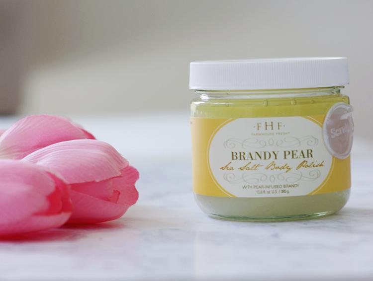 FarmHouse Fresh- Body Polish- Brandy Pear Body Polish- Brandy Pear Scrub-Body Scrub