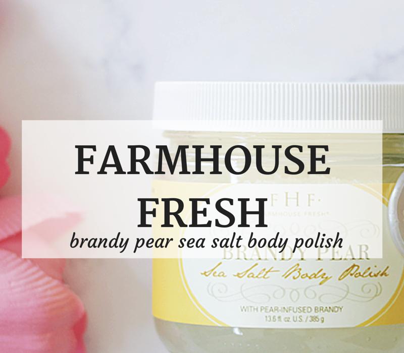 FarmHouse Fresh-Brandy Pear- Sea Salt-Body Polish- Brandy Pear Body Polish- Brandy Pear Body Scrub