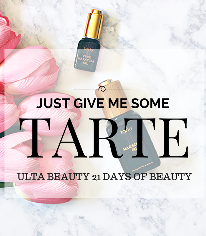Give me some Tarte Maracuja Oil- Ulta Beauty