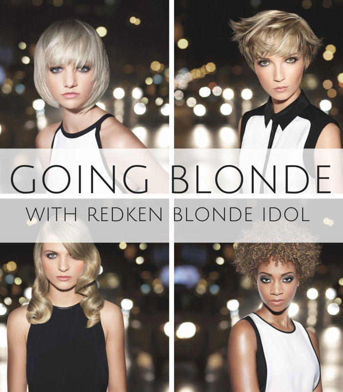Redken- Blonde Hair-Redken Blonde Idol- Easy ways to go blonde with Redken Blonde Idol Haircare System