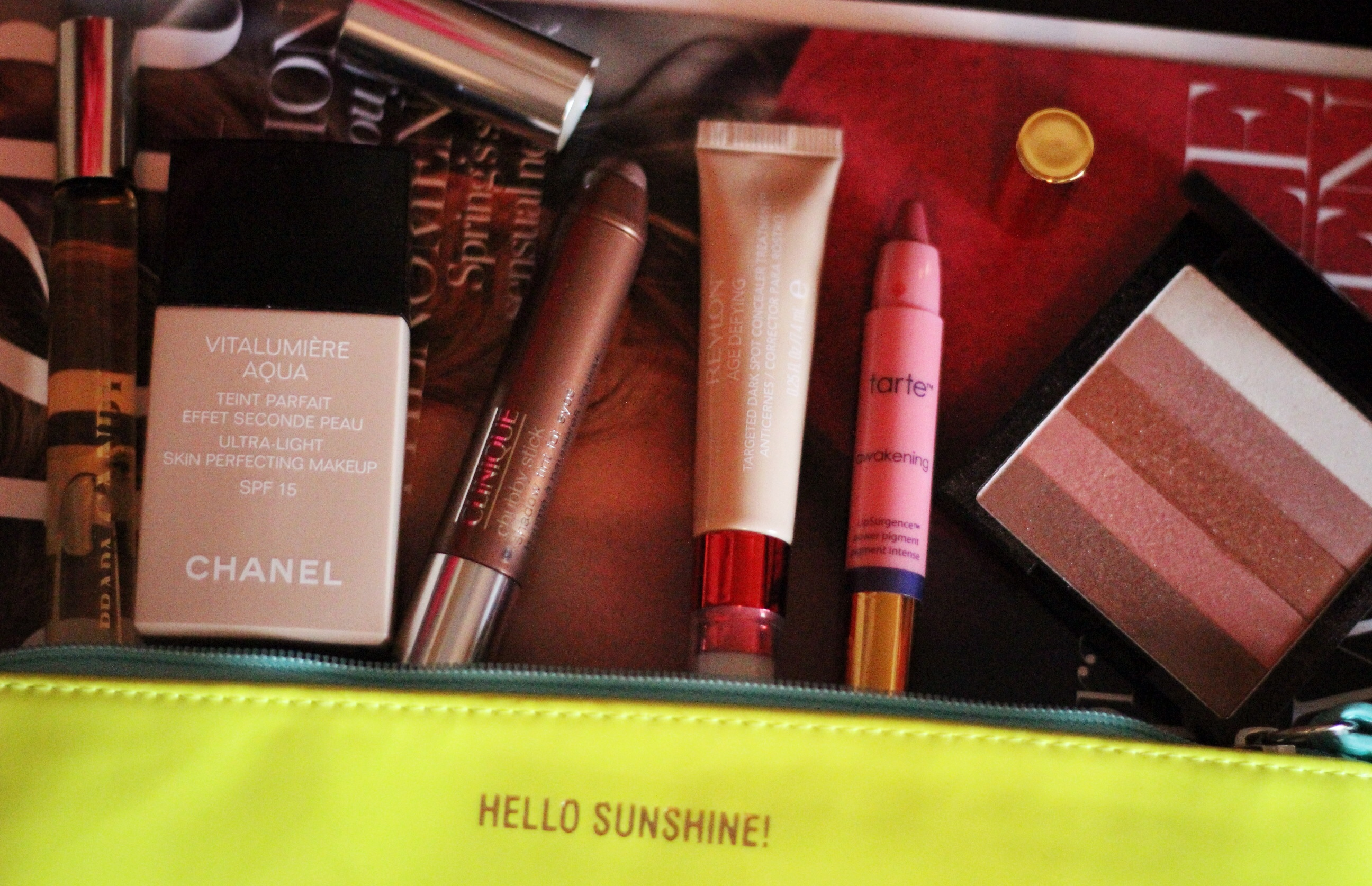 Revlon, Chanel, Tarte, beauty
