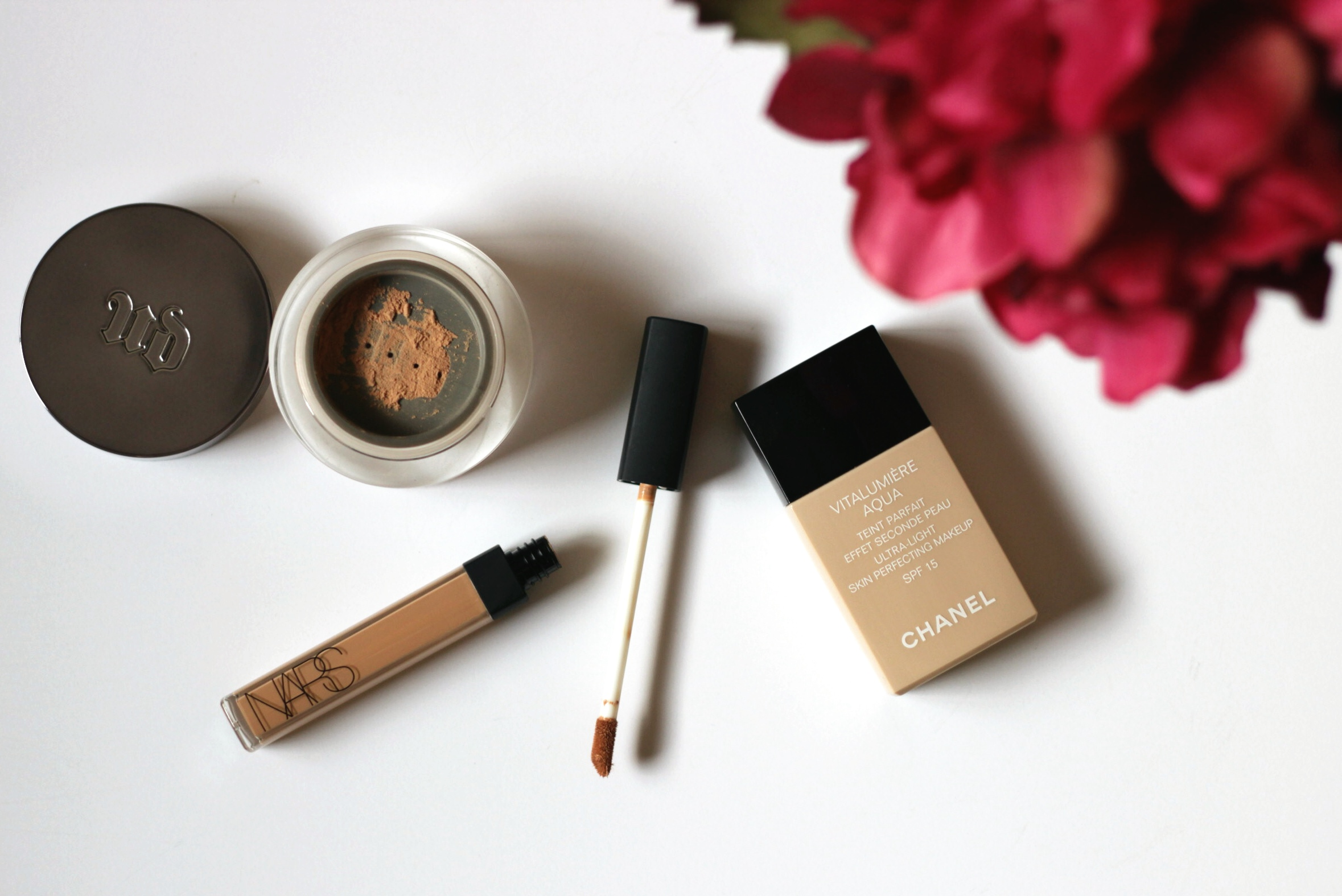 MakeupLifeLove-Flawless-Trio-Chanel-NARS-UrbanDecay