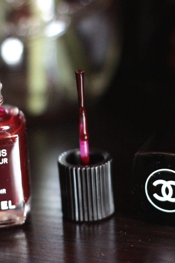 Makeuplifelove- CHANEL-Polish- DUPE- Rouge Noir