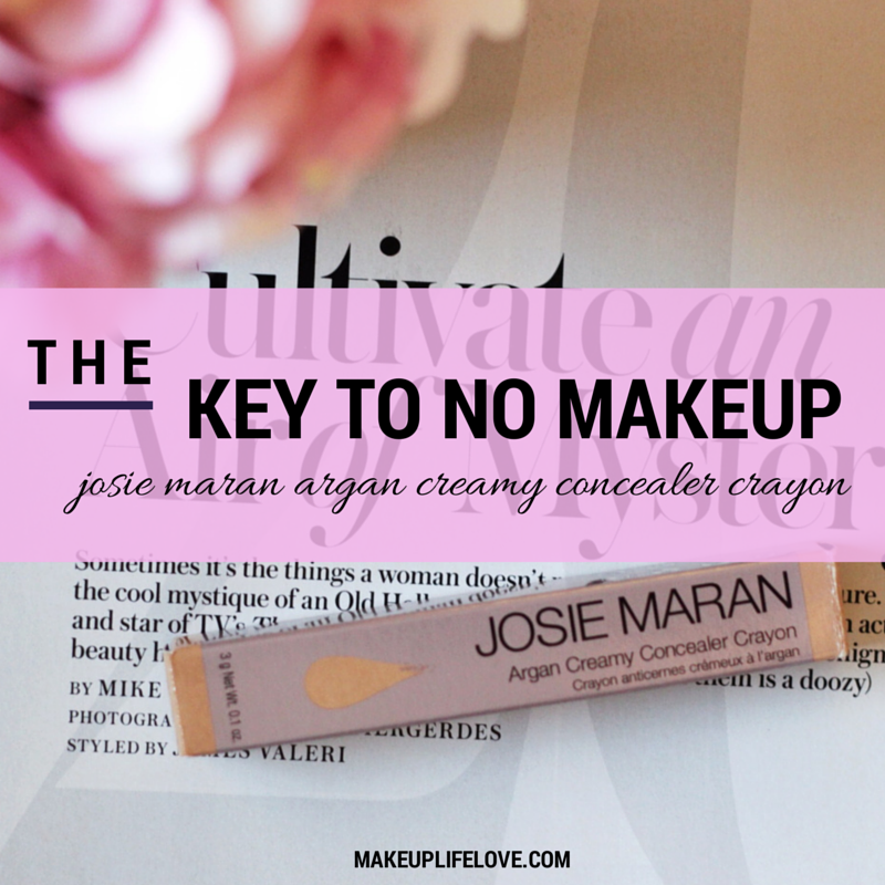 JOSIE MARAN ARGAN CREAMY CONCEALER-makeuo-makeuplifelove-beauty