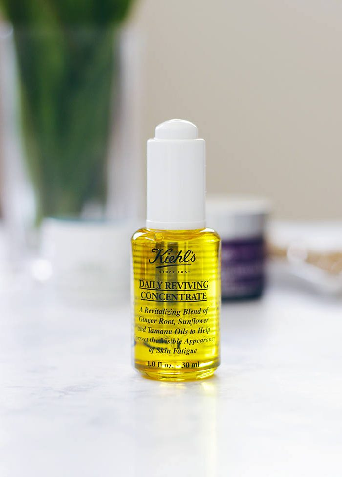 Say goodbye to dull, fatigued skin and say hello to Kiehl's Daily Reviving Concentrate Facial Oil. Read why Jamie is loving this facial oil to get her skin ready for Fall: https://makeuplifelove.com- Makeup Life and Love- Kiehls