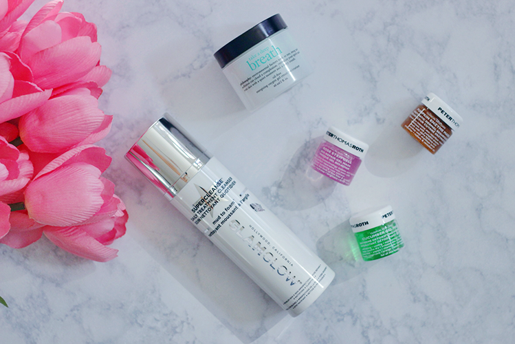 New Skincare-Sephora-Haul-Philosophy-Peter Thomas Roth-Glam Glow-Cleanser