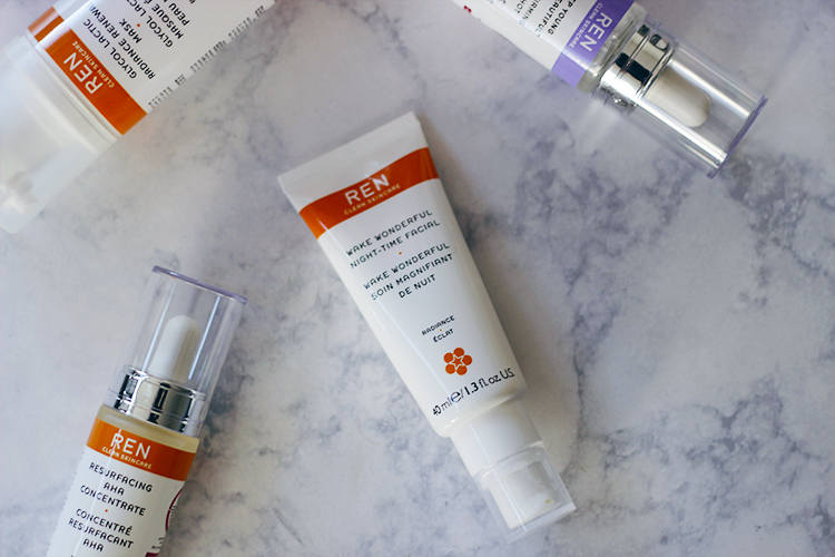 Want a instant jumpstart on skincare? Try the REN Wake Wonderful Night-Time Facial . This stuff seriously is AMAZINGNESS in a tube.