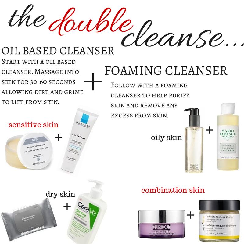 Double-Cleanse-Regimen-Skincare