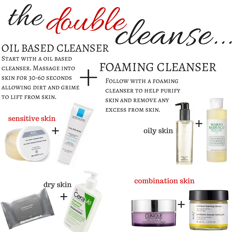 Double-Cleanse-Regimen-Skincare