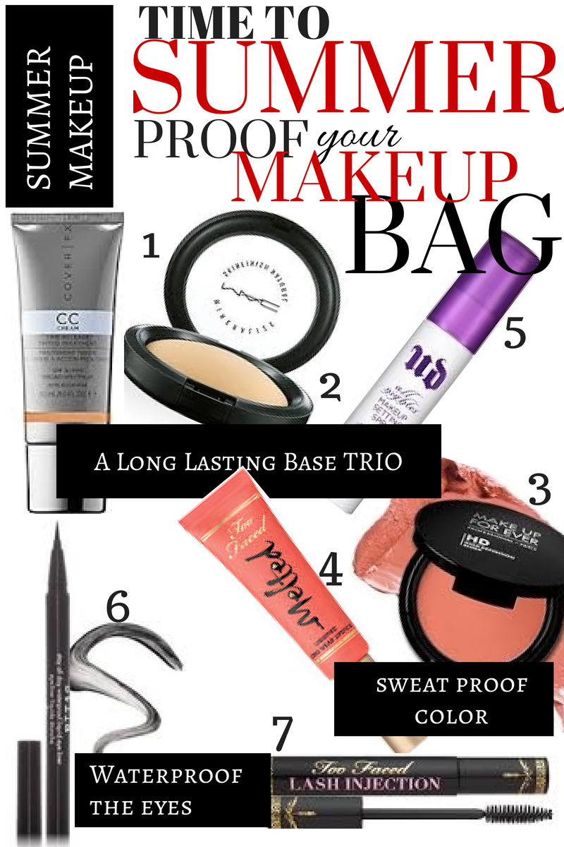 Makeup-Bag-Summer-Proof-Beauty-TooFaced-UrbanDecay-MAC-Stila-CoverFx